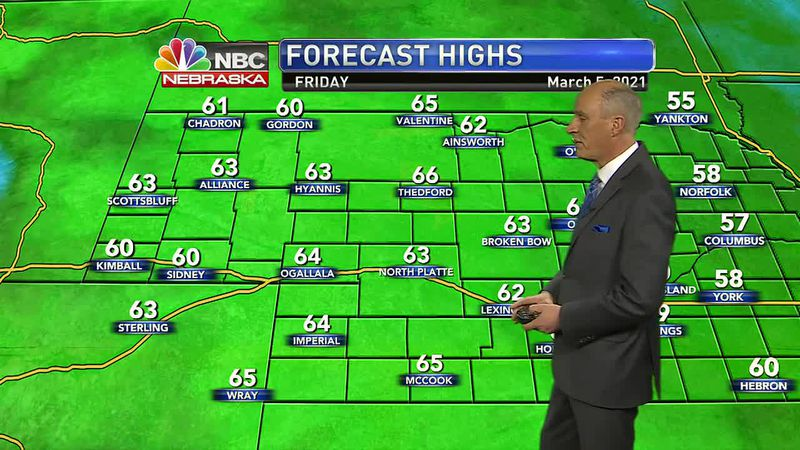 More mild weather expected into Thursday.