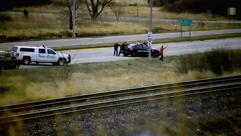 Nebraska State Patrol pursued a suspect in Friday afternoon's Westroads Mall officer shooting,...