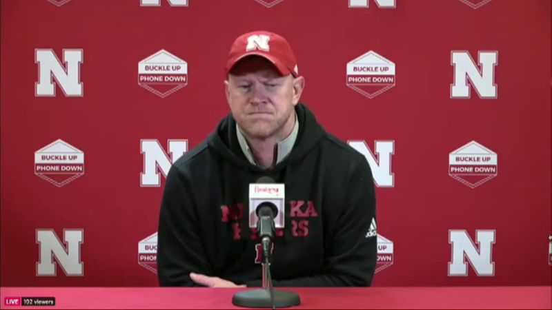 Scott Frost on Luke vs Adrian