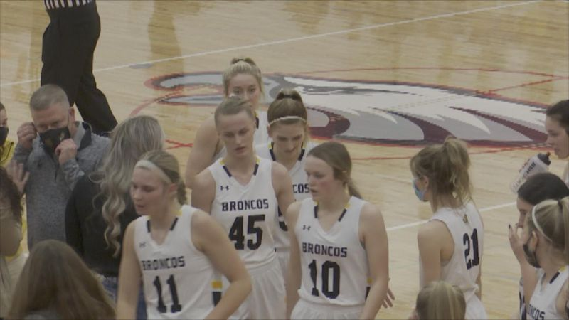 The Broncos take care of business tonight in their District Finals.