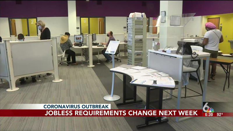 Changes in unemployment requirements are expected to stretch the system in Nebraska.