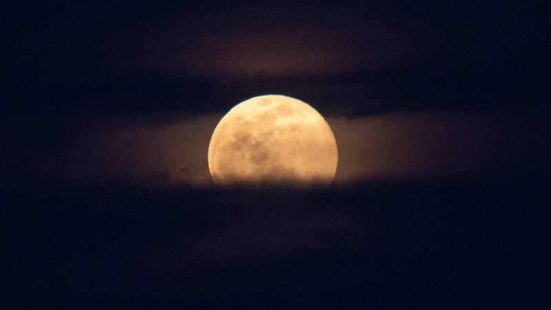 A super moon occurs when the Moon's orbit is closest to Earth.