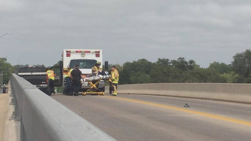 One person was taken to the hospital Wednesday afternoon after a two vehicle accident on the...