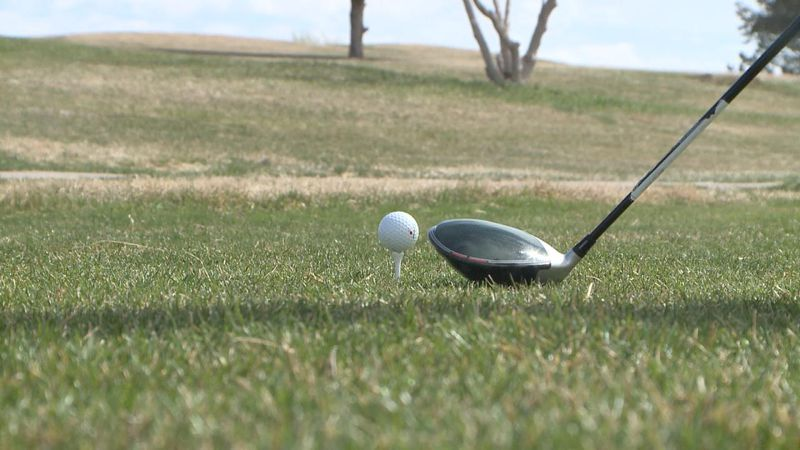 The North Platte girls golf team broke the school record they set earlier this week, shooting a...