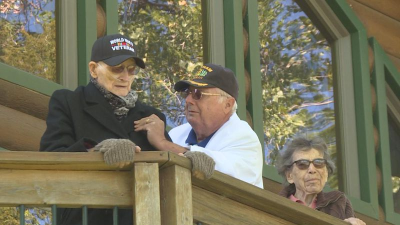 100 year old veteran honored