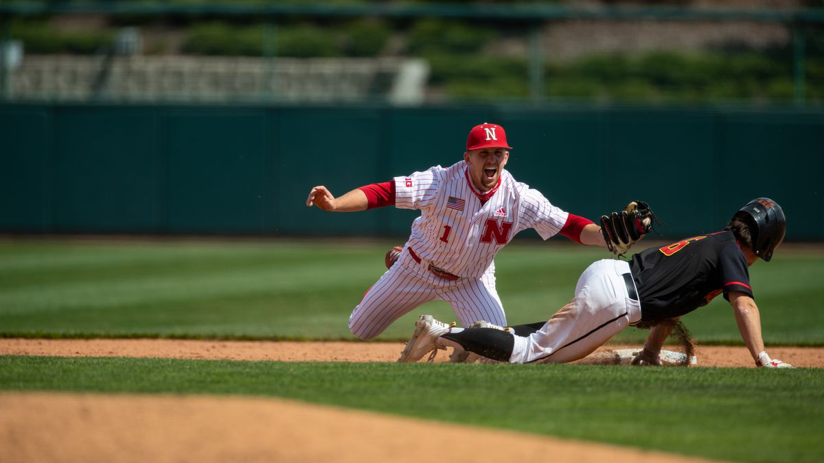 Nebraska infielder/pitcher Spencer Schwellenbach #1