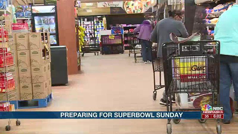 Local stores preparing for Super bowl Sunday