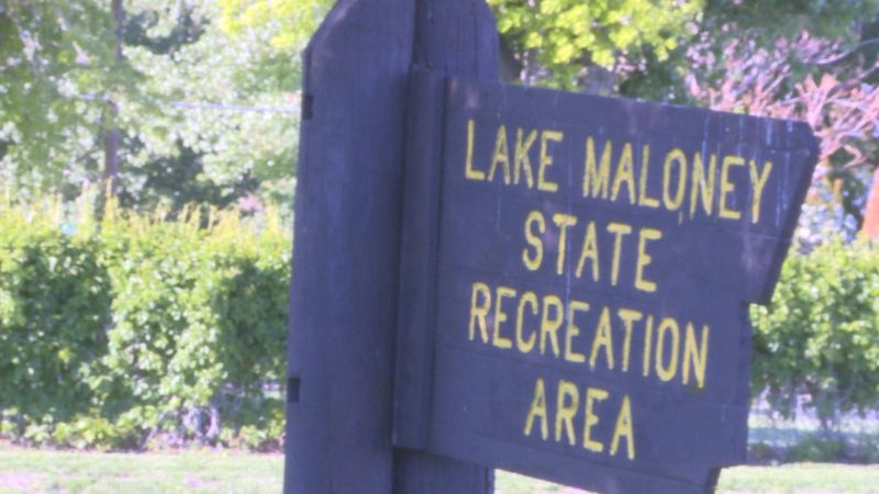 Finding your way to Lake Maloney to enjoy summer.