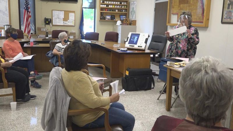 Poll worker training has started in Lincoln County. About 120 people have signed up to work the...