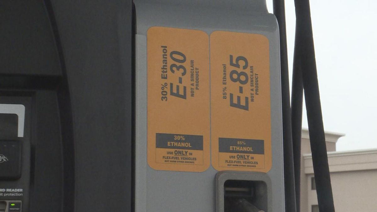 Kwik Stop in North Platte offers options for ethanol fuel at the pump. (Source: Jace...