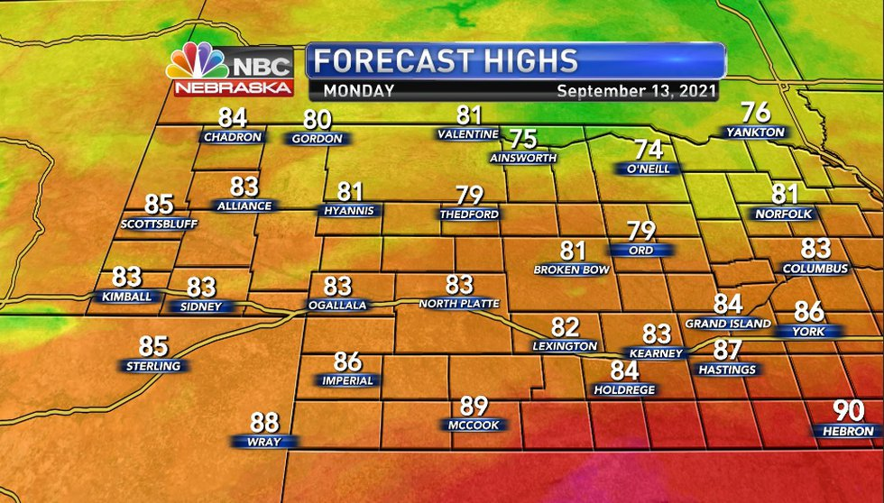 KNOP High Temps 9-13-2021