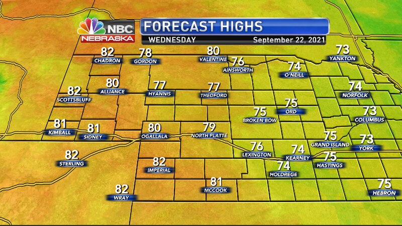 Warmer temperatures on the way for the region