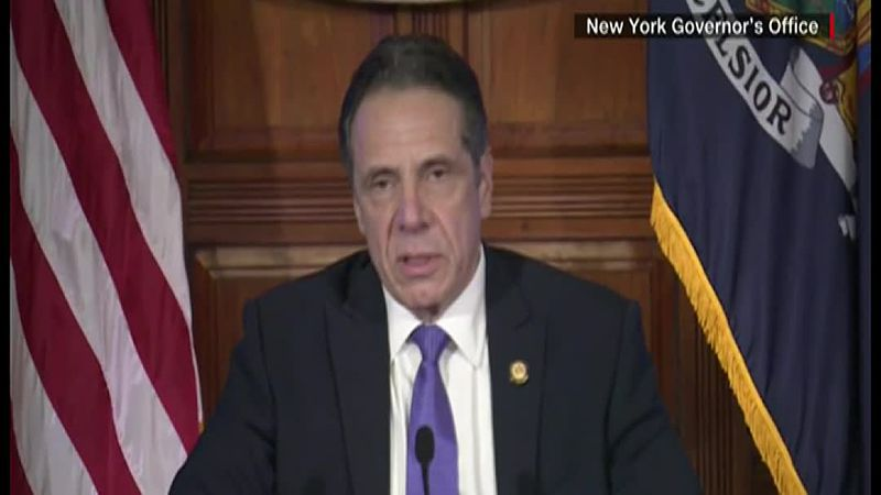 New York Gov. Andrew Cuomo apologized Wednesday amid sexual harassment allegations.