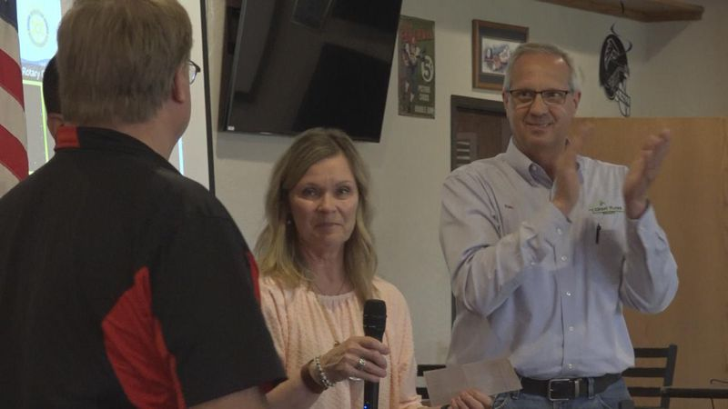 The names of the three winners for this year's Grocery Grab were announced at the North Platte...
