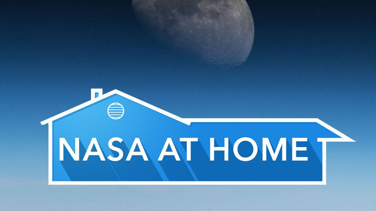 NASA at Home offers you a variety of material to discover, learn and create during this time of social distancing. (Source: NASA)