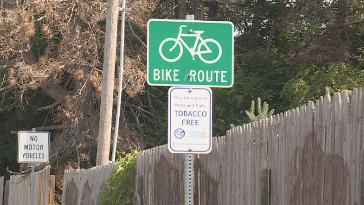 Bike trail on hold.