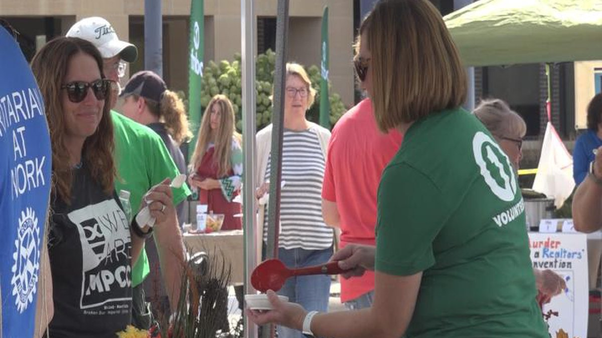 The United Way held their annual chili cook off Friday.