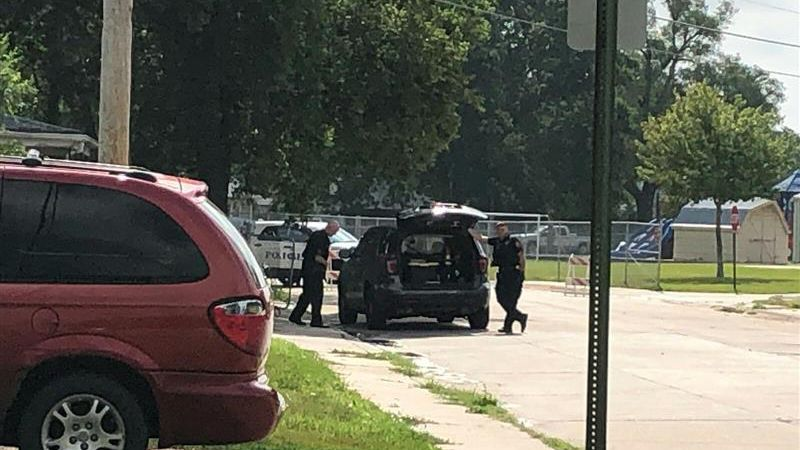 Investigators were on the scene the morning after a Grand Island man was shot and killed by...