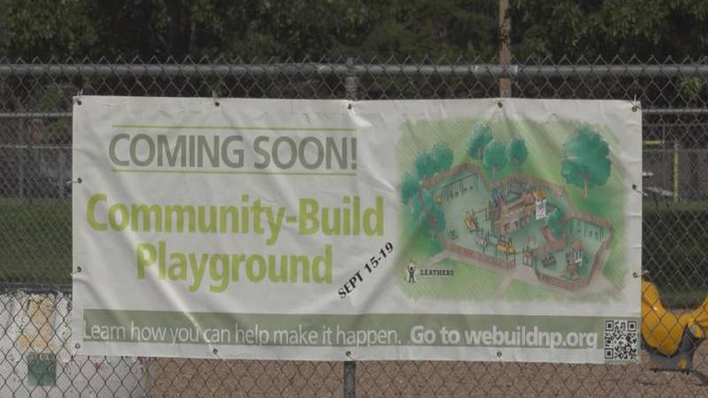 The WeBuildNP playground will be located in Centennial Park.