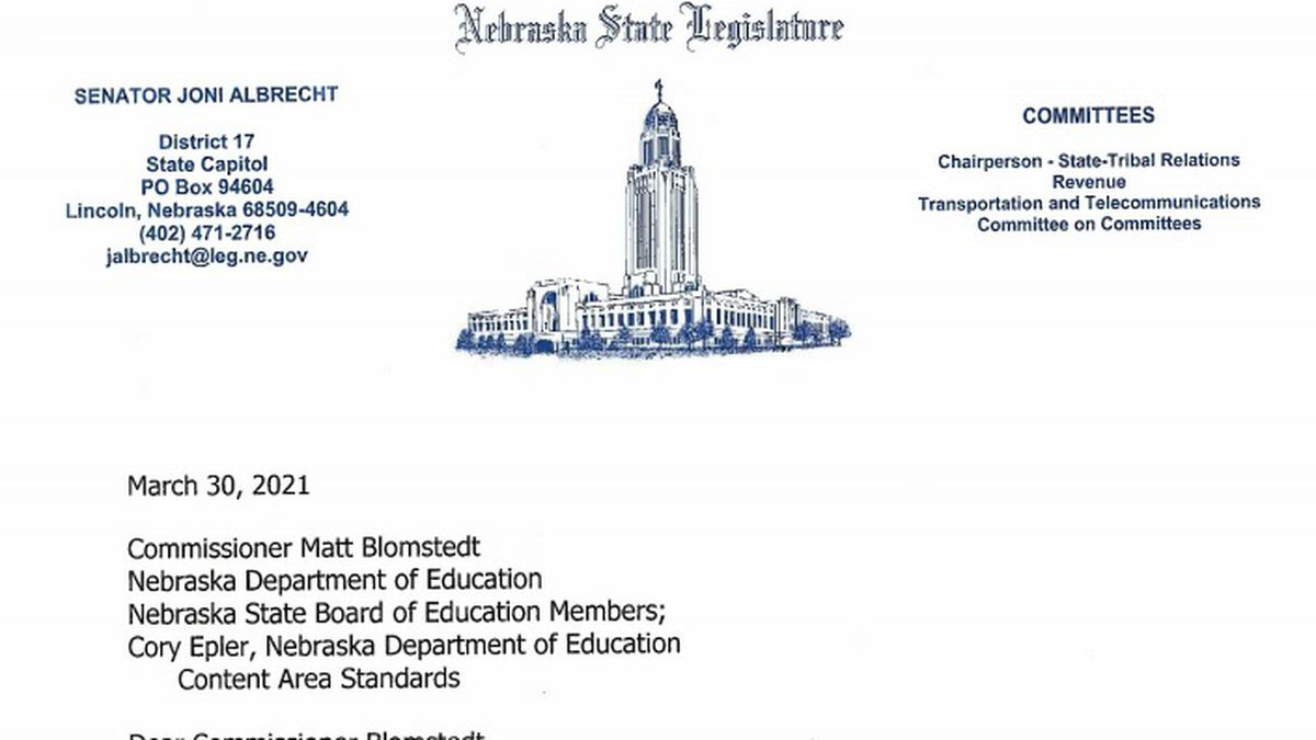 Twenty-eight state senators sent a joint letter to Education Commissioner Matt Blomstedt about...