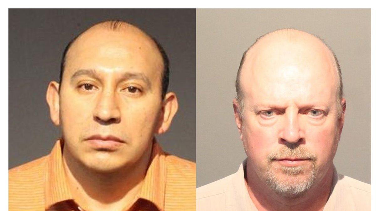 Orlando Alvarado (left) and Kurt Schneider (right)