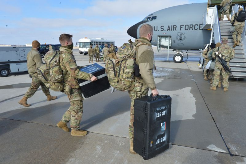 Members of the Nebraska National Guard were called on to provide support for the 59th...