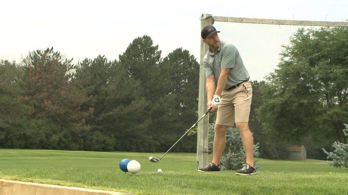 Dan Woodburn is a co-chair of the Ambassadors Classic golf tournament, which was held at River's Edge Golf Course this weekend (Credit: Patrick Johnstone/KNOP-TV)