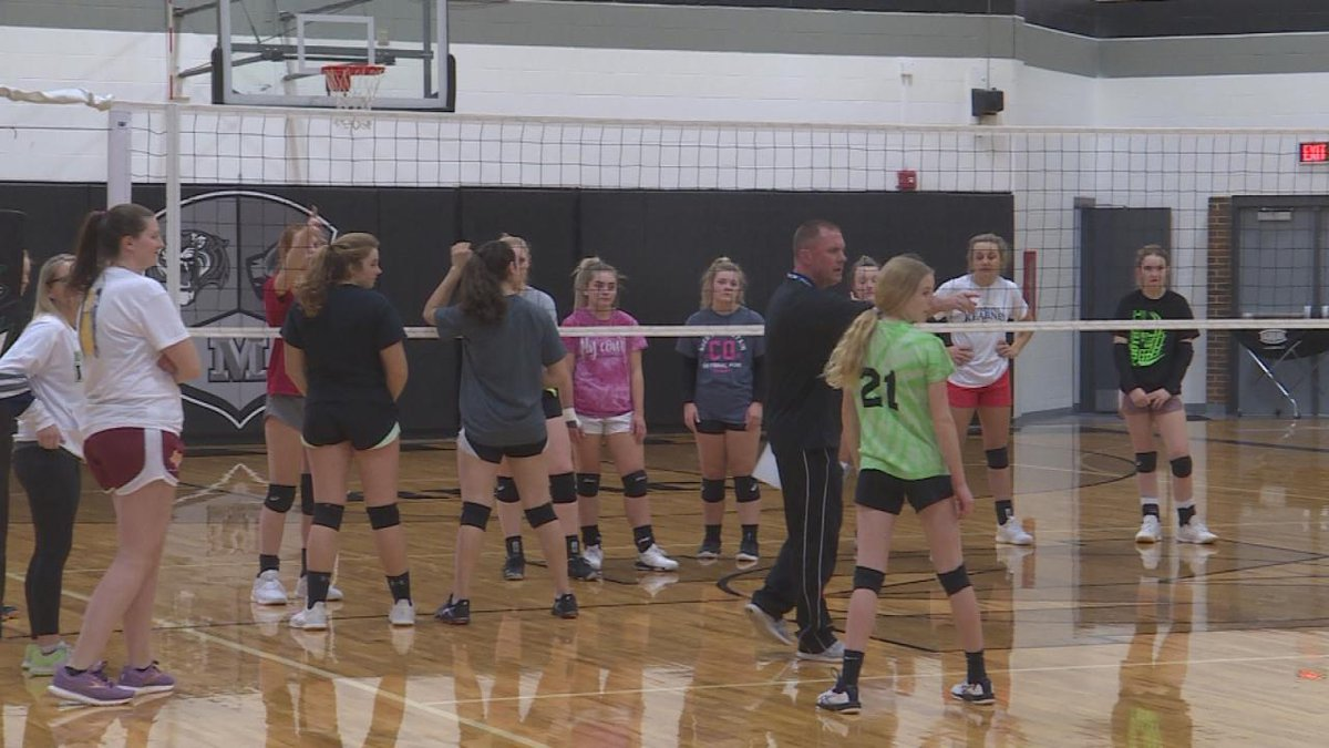 The girls have enjoyed an undefeated season so far and look to beat Sioux County tomorrow.