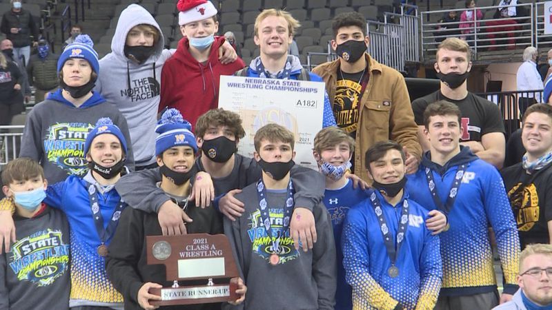 The North Platte Wrestling Team had a great performance at State.