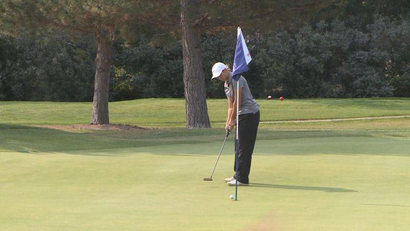 North Platte girls golf at Rivers Edge