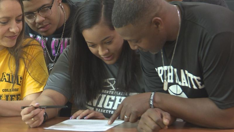 The Hershey Senior will play basketball for North Platte Community College next year.