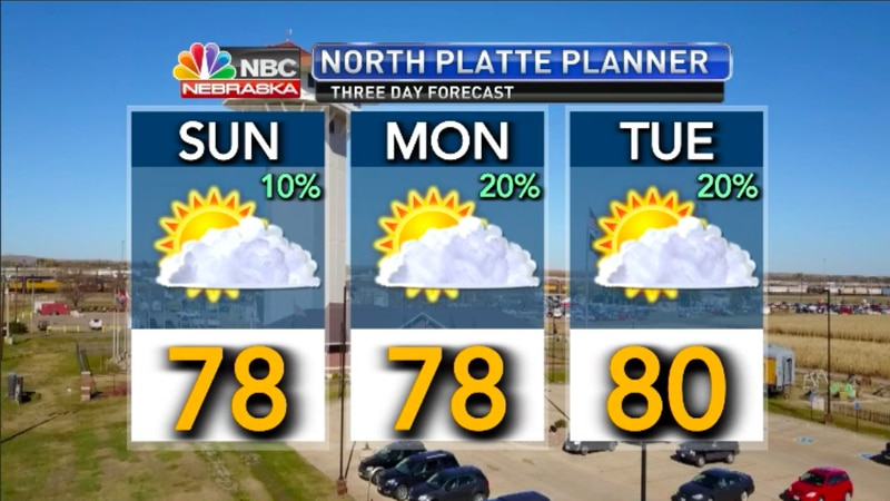 3 day forecast for North Platte.