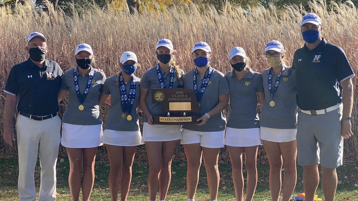 North Platte girls golf wins Class A stat championship.