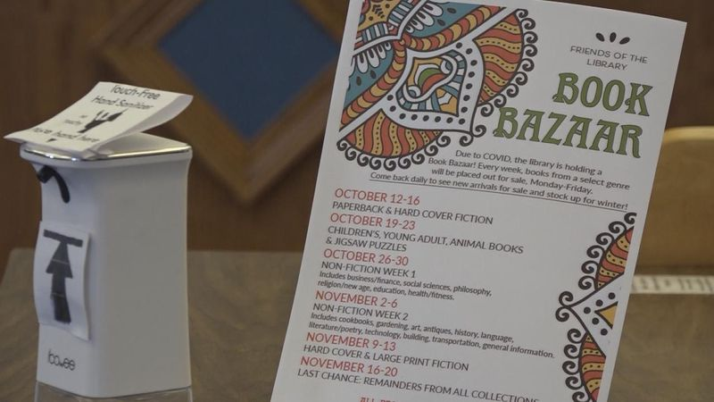 The book bazaar will be from 9 a.m. to 6 p.m. on weekdays, starting Oct. 12 and running through...