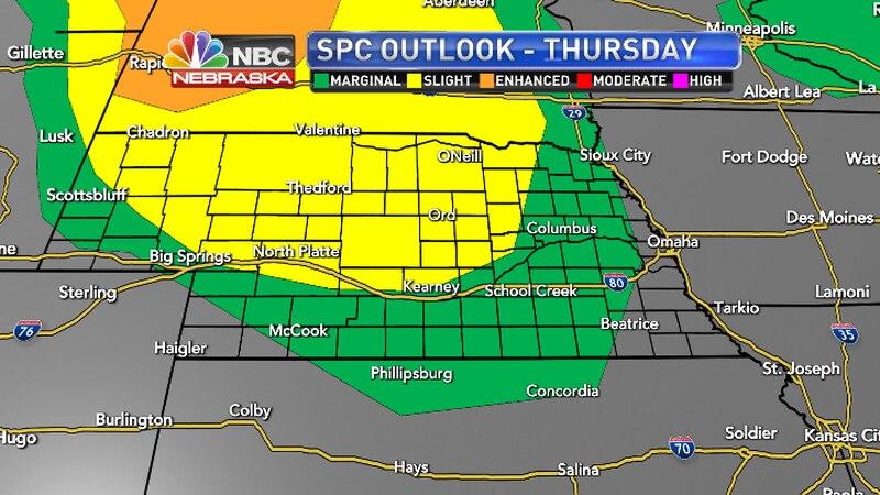 SPC Outlook for Thursday