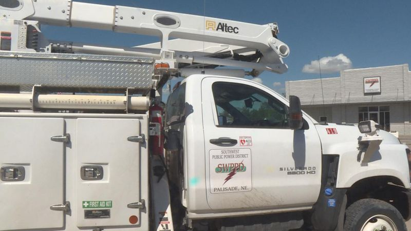 On May 26, Southwest Public Power District crews went out to restore power from the tornado...