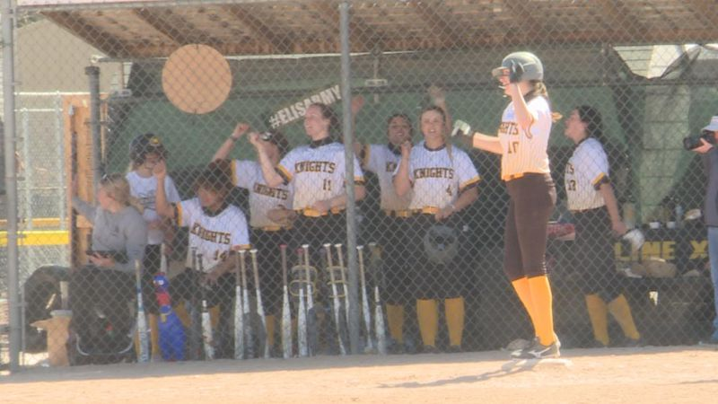 The Lady Knights put together a late game comeback to secure a victory over Central.