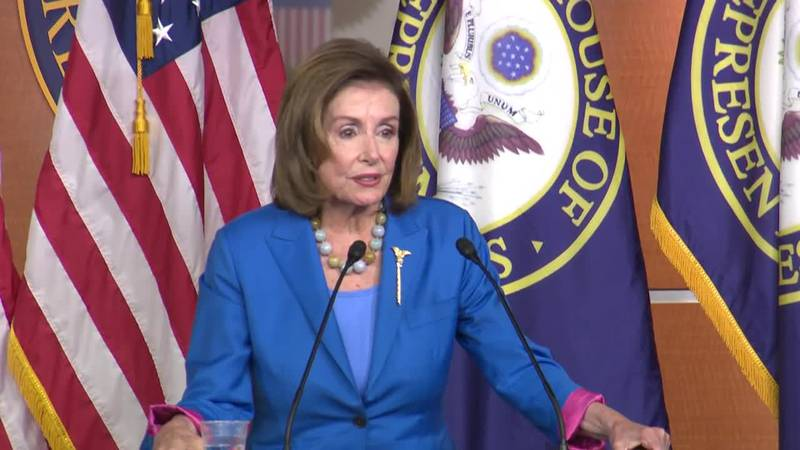 """House Speaker Nancy Pelosi is warning that """"difficult decisions must be made"""" as Democrats..."""