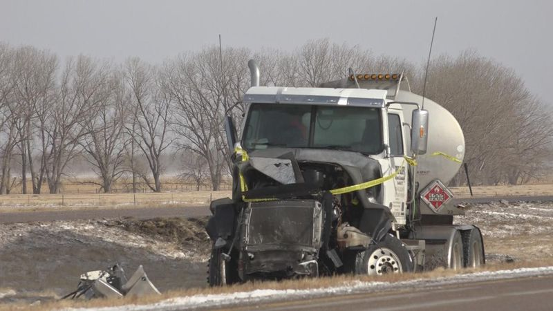 Hazardous road conditions blamed for several accidents and deaths on Nebraska roadways Wednesday.