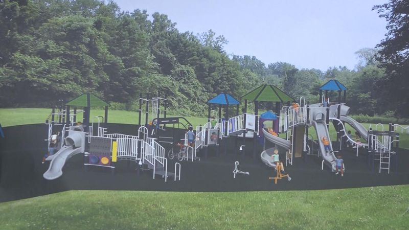 A Miracle Recreation playground is being installed at Cody Park this week.