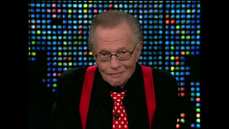 The legendary TV and radio host died on Saturday at the age of 87. (Source: CNN)
