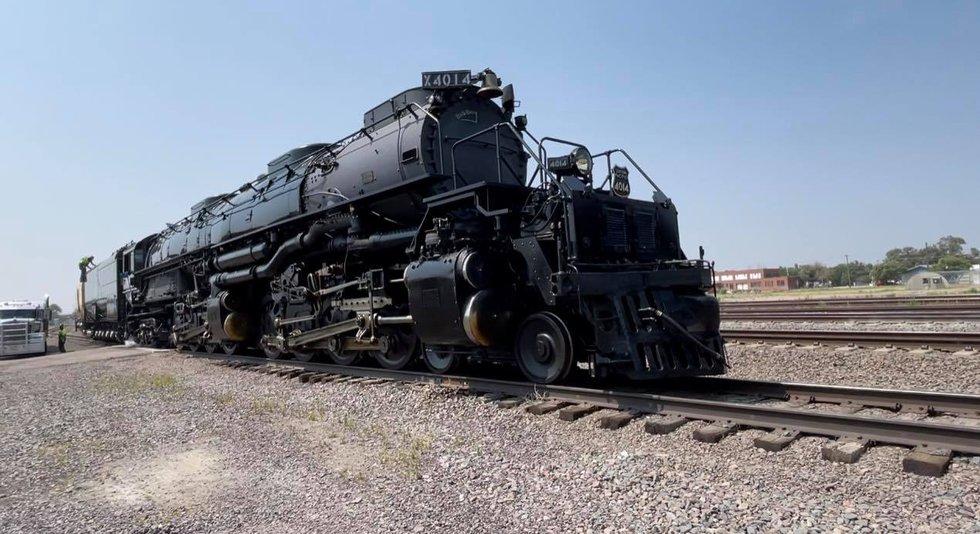 Big Boy #4014 in North Platte