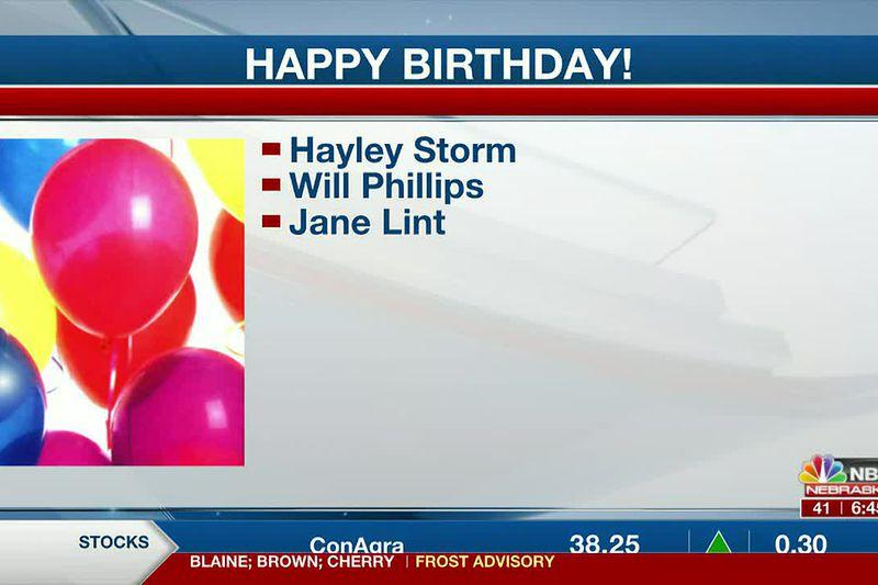Happy May 11th Birthdays!!