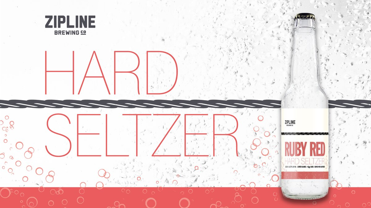 The Zipline Brewing Company is releasing a hard seltzer line.