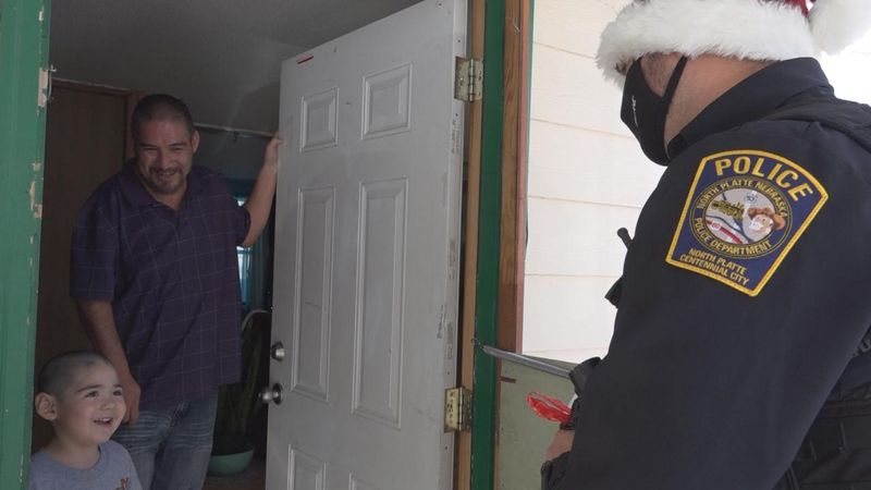The North Platte Police Department is making Christmas a little brighter for families through...