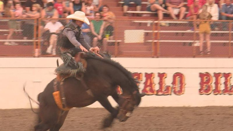 Day 1 of the Buffalo Bill Rodeo saw a great turnout