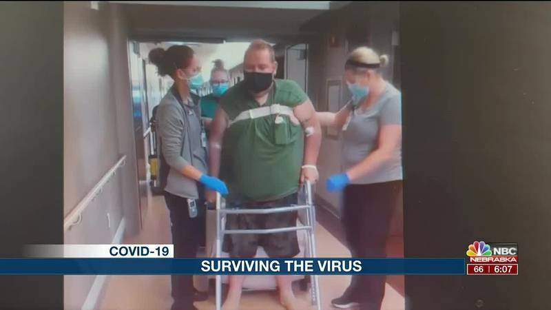 Josh Trace and his battle back from COVID-19, and the effects of the virus.