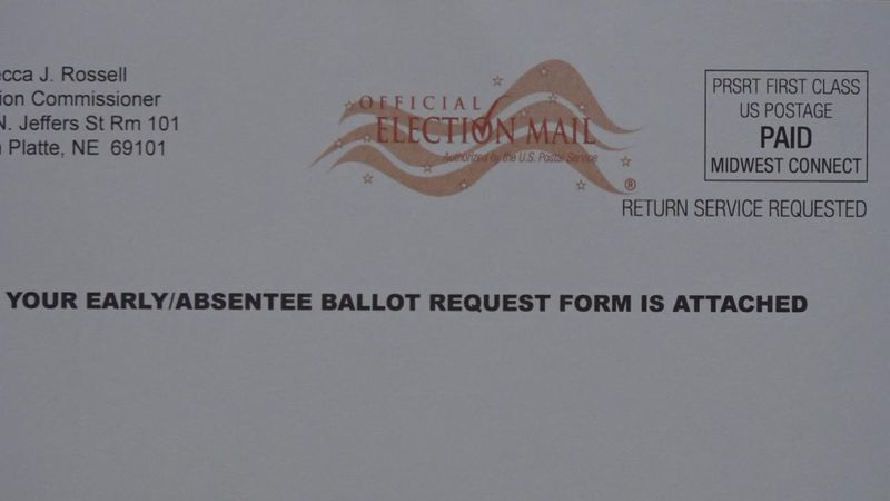 Mail-in ballots sent to voters
