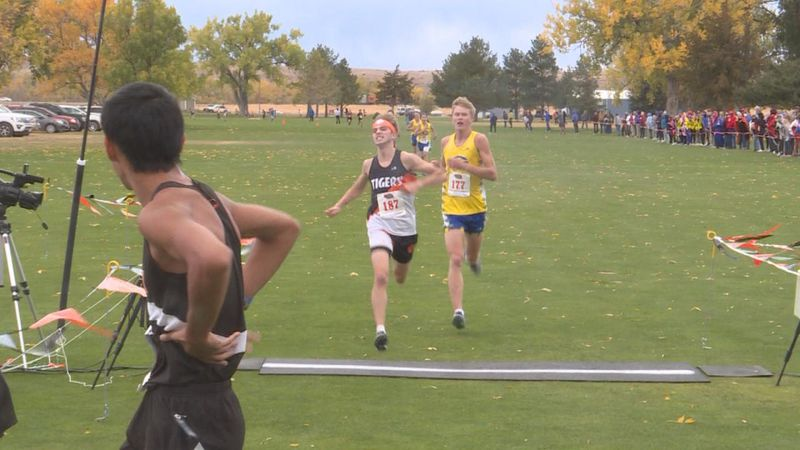 The District Meet at Crandall Creek in Ogallala took place today