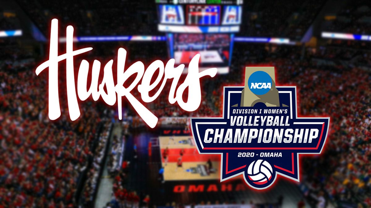 The Nebraska volleyball team is playing in the NCAA Tournament in Omaha